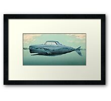 the Buick of the sea Framed Print