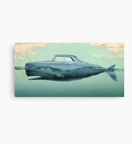 the Buick of the sea Canvas Print