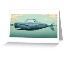 the Buick of the sea Greeting Card