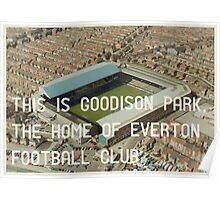 Everton Football Club Poster