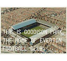 Everton Football Club Photographic Print