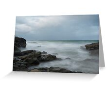At the beach....  Mooloolaba Greeting Card