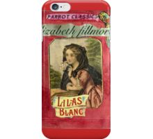 "Lilas Blanc-A ""Novel"" iPhone Case/Skin"