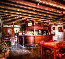 Bar inside the old brewery goulburn nsw by Kym Bradley