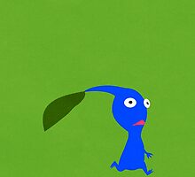 Blue Pikmin by tanzelt