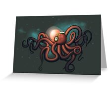 what do octopi listen to Greeting Card