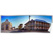 Avon Terrace York Western Australia Poster