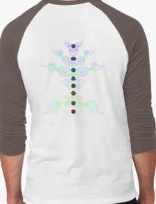 aWEARness Clothing (Without coloured aura) Men's Baseball ¾ T-Shirt