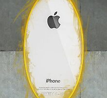 iPhone Portal White by MitzPicz