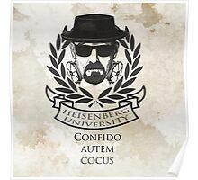 Heisenberg university crest Poster