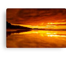 """Jan Juc Gold"" Canvas Print"
