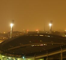 Gothenburg by night - Ullevi by Madsen1981