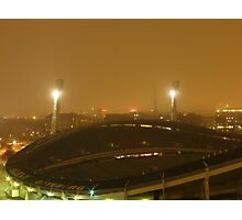 Gothenburg by night - Ullevi Photographic Print