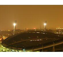 Gothenburg by night - Ullevi Photographic Print