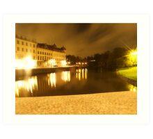 Gothenburg by night - From avenyn Art Print