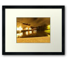 Gothenburg by night - From avenyn Framed Print