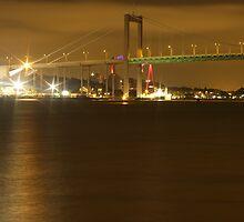 Gothenburg by night - The hisingen bridge by Madsen1981
