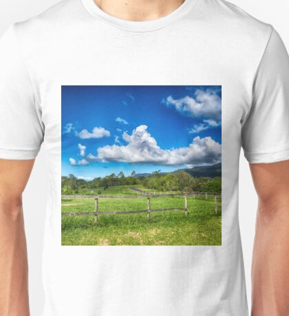 Beautiful Rural View in Queensland Unisex T-Shirt