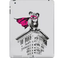Super koala iPad Case/Skin