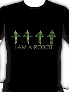 PIXEL8 | KRAFTWERK NEON | I AM A ROBOT T-Shirt