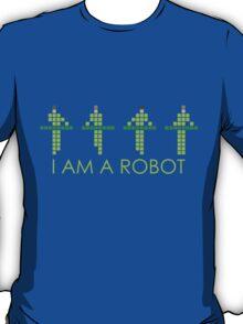 PIXEL8   KRAFTWERK NEON   I AM A ROBOT T-Shirt