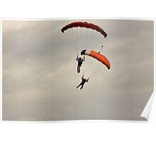 Parachuting Poster