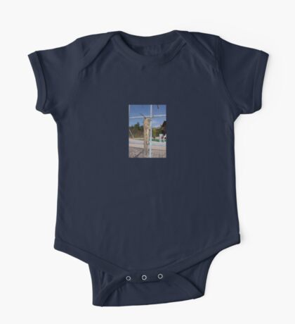 Locust On A Wire Fence One Piece - Short Sleeve