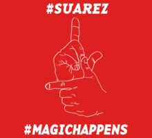 Magic Happens with Suarez by cloudcreative