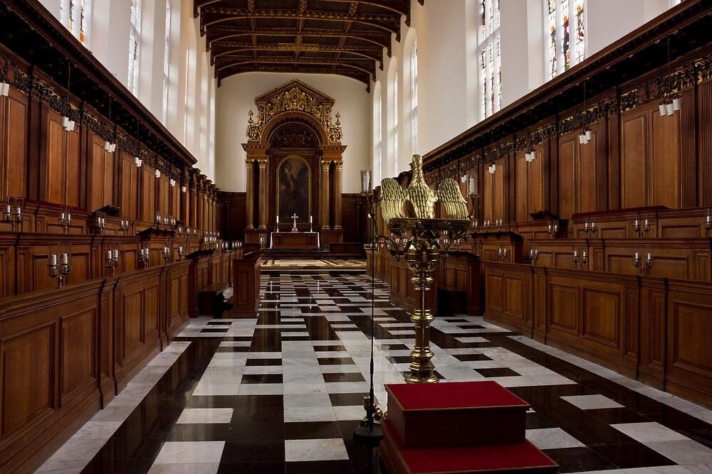 Trinity College Chapel in Cambridge by kirilart