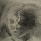 Charcoal Study by Lynn Hughes
