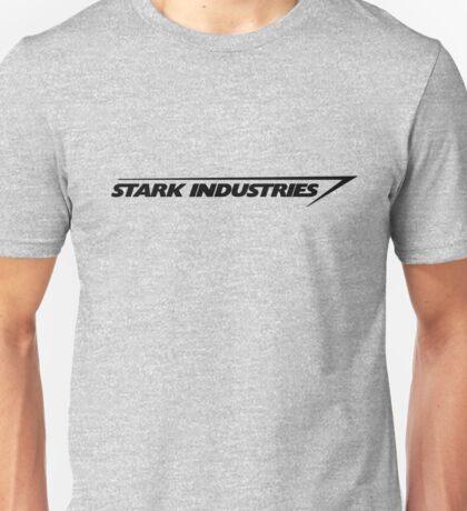 Stark Industries : Black Unisex T-Shirt
