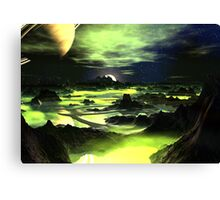 Planet Limelight Canvas Print