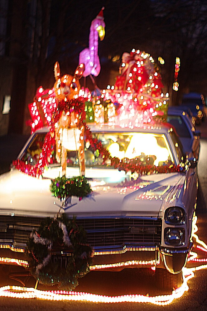 Christmas Car by Arteffecting