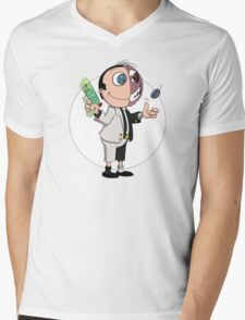 Two Face is Undecided Mens V-Neck T-Shirt