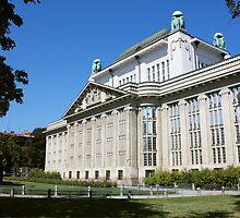Croatian State Archive Building in Zagreb by kirilart