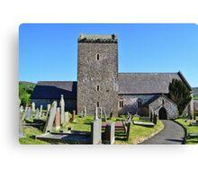 St Cenydd's Church, Llangennith Canvas Print