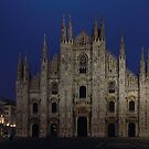 Milan Cathedral night shot by kirilart
