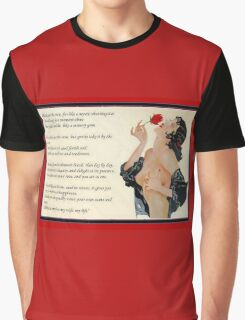 Pluck Not The Rose  Graphic T-Shirt