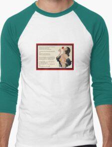 Pluck Not The Rose  Men's Baseball ¾ T-Shirt