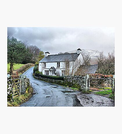 Down the Lane . Photographic Print