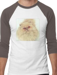 Who are you calling a big ball of fur?  Men's Baseball ¾ T-Shirt