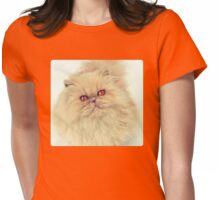 Who are you calling a big ball of fur?  Womens Fitted T-Shirt