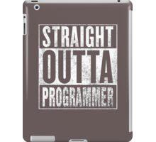 Straight Outta Programmer iPad Case/Skin