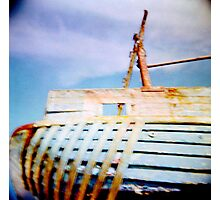 boat moored Photographic Print
