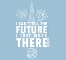 Doctor Who - I Can't Tell The Future One Piece - Short Sleeve