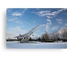 Concorde at Brooklands Canvas Print