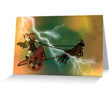 Thunderer Greeting Card