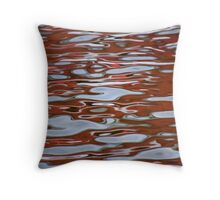 Red Meditation Throw Pillow