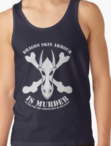 Dragon Armour Is Murder  Tank Top