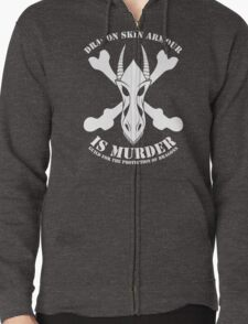 Dragon Armour Is Murder  Zipped Hoodie
